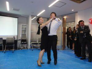 華麗な社交ダンス!感動しました!