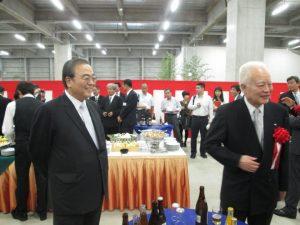 曽根相談役と曽根会長です!お二人とも素敵な表情です!