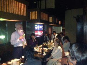 会長喜寿おめでとうございます!本社の皆で大いに盛り上がりました!
