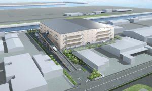 横浜本牧営業所の竣工が楽しみです!
