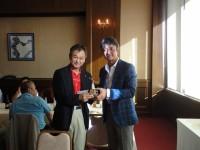 優勝者の藤原さんです! おめでとうございます!!