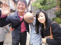 江原さんは酔っぱらっているのでしょう スキンシップも時には重要ですね!