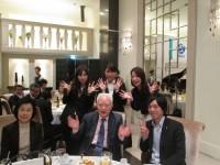 会長も若い皆さんと一緒に 楽しんで下さいました!