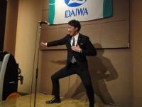 ノリのいい新入社員、田中君!