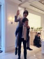 松本君の先輩である加藤君!信頼関係バツグンです