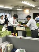 横浜本牧営業所リーダーに就任する益田君!