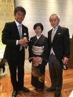 石田さんのご両親です おめでとうございます!