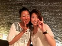 左 今岡さん 右 伊藤さん 2人とも良い笑顔ですね!