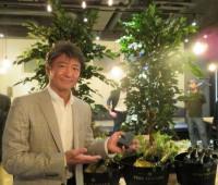 当社からお祝いとして観葉植物をプレゼントいたしました。