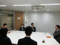 最後は管理本部長の芦川さんに締めていただきました。