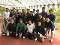 ゴルフコンペの参加メンバー。今回も楽しかったです!