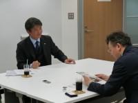 松井社長より取材を受けさせていただきました