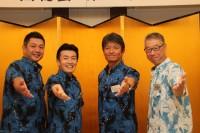 左から池田会長、第19代会長 醍醐さん、右端が第21代会長太宰さん