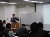 シーオス松島社長よりAIやロボットについて非常に分かりやすくご講演いただきました。