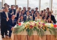 素敵な式に招待してくれてありがとう!