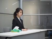 横浜本牧営業所配属の平良 優花子さん