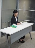 川崎第2営業所配属の八幡 沙羅さん